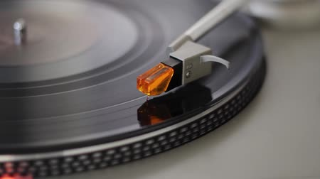Turntable with professional lighting.
