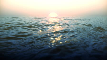 Realistic water waves. Clean textured surface.