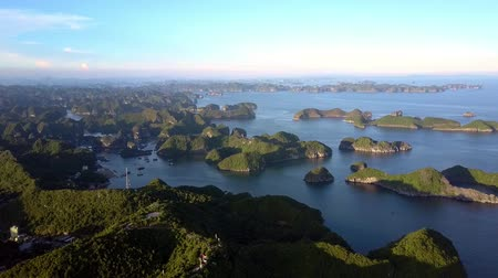 halong : upper view of the island
