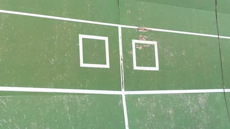 tennis stadium : old tennis practice wall