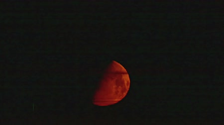 perigee : blood moon timelapse