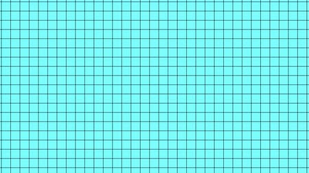 вершина : Abstract clean simple grid in motion, cartoon background Стоковые видеозаписи