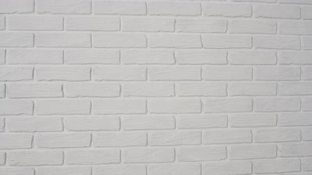 canto : white brick wall as background