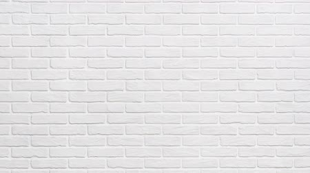 кирпичная кладка : white brick wall background slide down effect