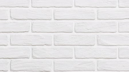 кирпичная кладка : white brick wall background slide effect