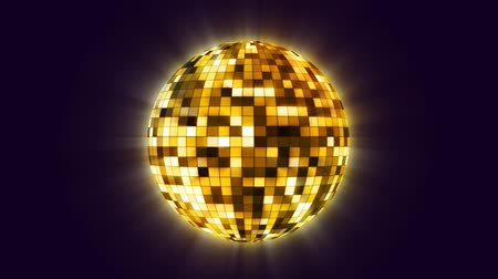 disko : Disco ball spinning HD 1080 stock video animation