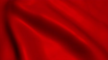 hedvábí : Red satin fabric background. Seamless looping animation.