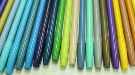 zvýrazňovač : Colorful magic pens, Multicolored Pens draw line