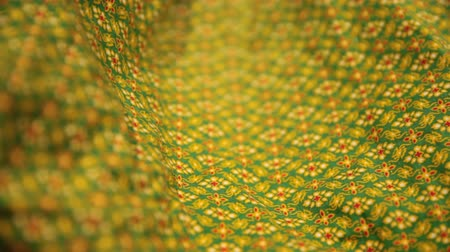 kružba : Close up of Sarong fabric delicate at Thailand stripes pattern, Backgrounds