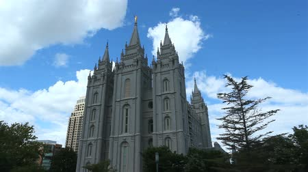 sůl : The Church of Jesus Christ of Latter-day Saints Temple, Salt Lake City, USA