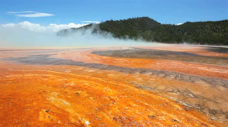 национальный парк : The Grand Prismatic, Yellowstone National Park, USA