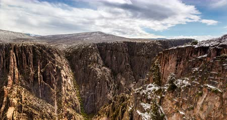 egyesült : Black Canyon of the Gunnison, Colorado, USA