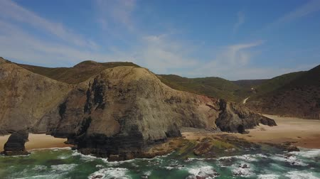 Wild beaches in The South West Alentejo and Vicentine Coast Natural Park, Portugal
