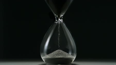 gotas : Sands move through hour glass, Slow Motion