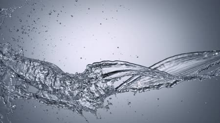 воды : Water splash shooting with high speed camera. Стоковые видеозаписи