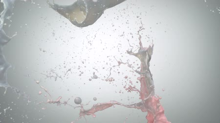 çilek : Strawberry milk splash shooting with high speed camera.