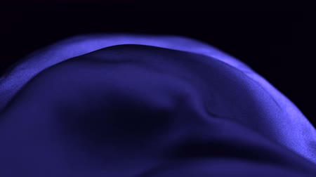 acetinado : Purple silk fabric blowing in the wind shooting with high speed camera. Stock Footage