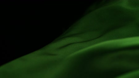 acetinado : Green silk fabric blowing in the wind shooting with high speed camera.