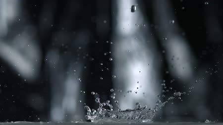 deszcz : Rain fall shooting with high speed camera, phantom flex.