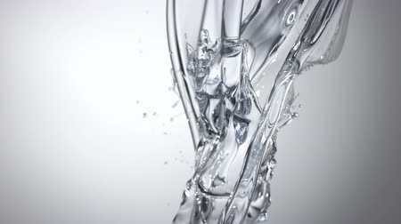 yapışkan : Pouring oil and making splashes. Shot with high speed camera, phantom flex 4K. Slow Motion.
