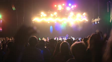 showbiz : Spectators listening music at the concert