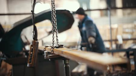 tutturma : Industrial concept. A man fastening the detail in the place