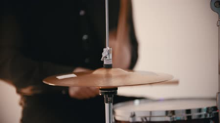 tutku : A man from the music cover band playing drums