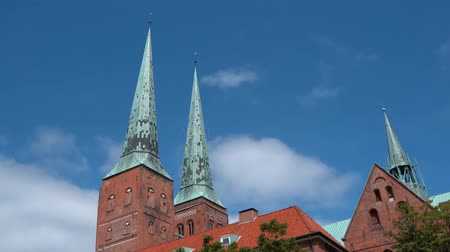 pináculo : Luebeck, View of the old city.