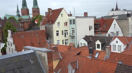 lubeck : Luebeck, View of the old city.