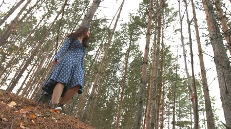 faerie : Dancing in the pine forest. 2 Shots.