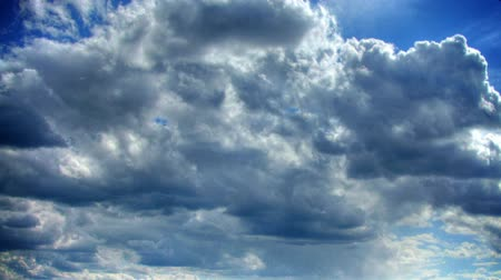 time lapse clouds : sky 2 time lapse Stock Footage
