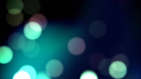 blur : Blue bokeh loop Stock Footage