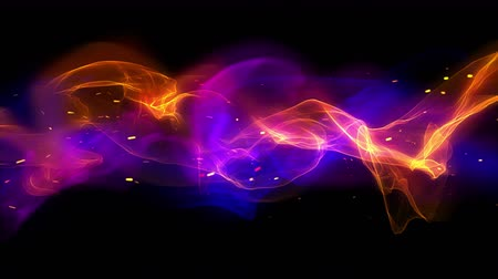 húrok : Abstract background digital fire loop