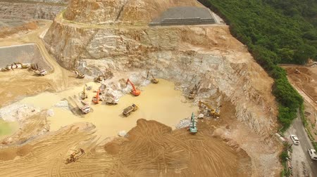 sand lia : Quarry or a site for construction