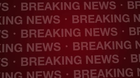 breaking news : Computer generated animation of a red breaking news background loop.