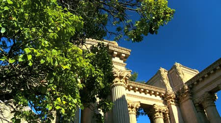 san francisco : Columns & architecture of Palace of Fine Arts in San Francisco