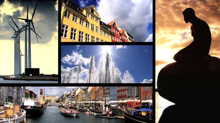 kodaň : Collection of images from the city of Copenhagen in Denmark