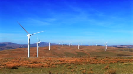 parque eólico : Wind power farm producing energy in the environment