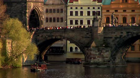 dik : Bridge over river in Prague, Czech Republic