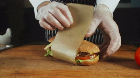sandwich club : Chef se tourne vers le Big Sandwich Wrapper