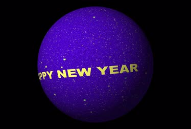 feliz ano novo : New Year sphere