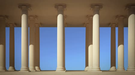 grego : Columns in line