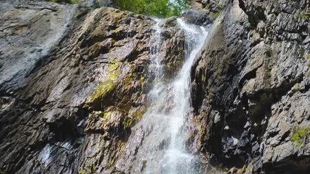 altay : Shirlak waterfall in rocks. Altai Mountains, Altay Republic, Siberia, Russia