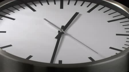 clock hands : White clock time lapse
