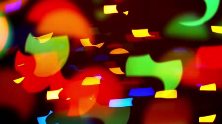 tripping : Blinking particles Colorful defocused blinking bokeh festive lights as abstract background. 1920x1080 full hd footage.