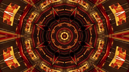 fantasia : Abstract Fantasy Kaleidoscopic Looping Video Background, VJ Technology Flashing Footage Backdrop