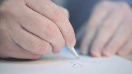 enrollment : Close up of businesswoman hands signing contract on business office desk