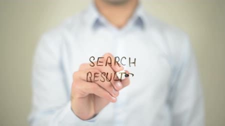 prepaid : Search Results, Man writing on transparent screen Stock Footage