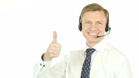 centrum : Thumbs Up by Call Center Operator, Helpline Agent Dostupné videozáznamy