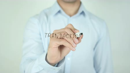 tık : Transaction, Writing On Transparent Screen